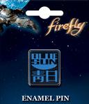 Enamel Pin - Firefly - Blue Sun