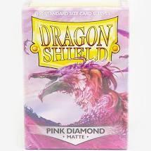 Dragon Shield  - Standard - 100ct - Matte Pink Diamond