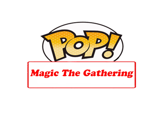 Pop logo magic the gathering