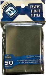 Standard Card Game Sleeves - Black - (Fantasy Flight) (In Store Sales Only)