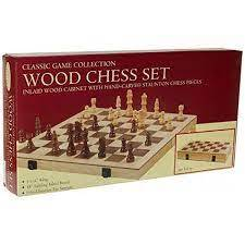 Chess Set - Hand Carved Staunton - 18in