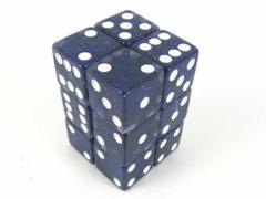 Glitter 16mm 12 Piece Set - Blue