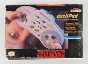 SNES Controller: asciiPad