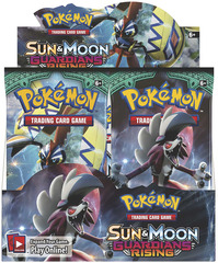 Pokemon TCG: Sun & Moon Guardians Rising Booster Display (36)