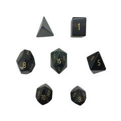 Gemstone: 7 Piece Dice Set - Hawk's Eye