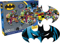 DC Comics: Batman - 2 Sided Die Cut 600 Piece Puzzle