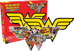 DC Comics: Wonder Woman - 2 Sided Die Cut 600 Piece Puzzle