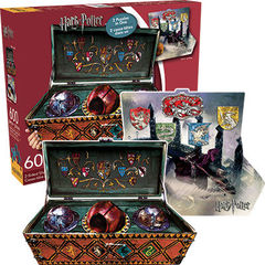 Harry Potter - 2 Sided Die Cut 600 Piece Puzzle