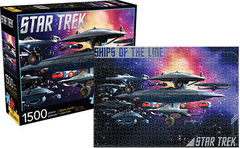 Star Trek: Ships of the Line - 1500 Piece Puzzle