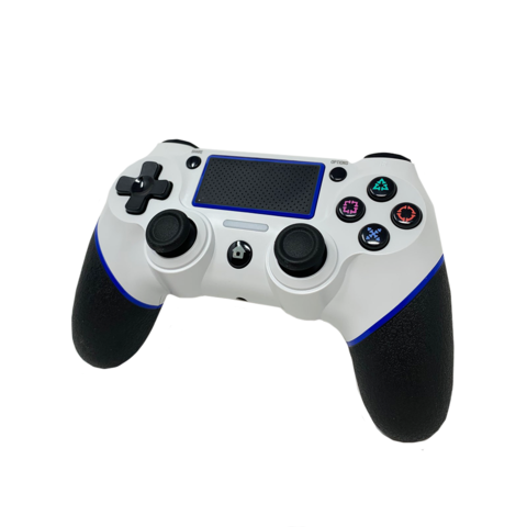 Old Skool Double-Shock 4 white - Wireless PS4 Controller