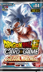 Dragon Ball Super - Colossal Warfare - Series 4 Booster Pack