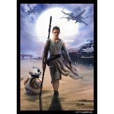 Star Wars Sleeves: Rey - Standard 50ct (Fantasy Flight) ( In Store Sales Only)