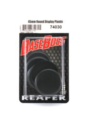 45mm Round Display Plastic
