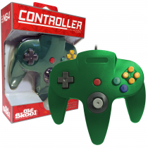 Old Skool - N64 Controller - Green