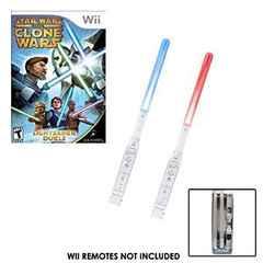 Star Wars Clone Wars: Lightsaber Duel BUNDLE