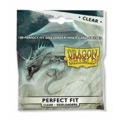 Clear - Perfect Fit Sideloader Inner Sleeves (Dragon Shield) - 100 ct