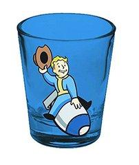 Fallout: Blue Vault Boy Shot Glass