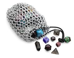 Dice Bag: Chain Mail