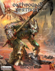 Pathfinder Roleplaying Game: Oathbound Bestiary
