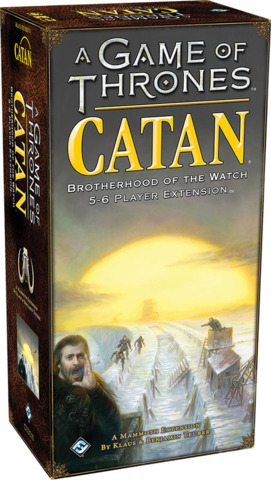 Catan - A Game of Thrones - 5 to 6 Player Expansion
