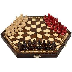 Chess Set: Classic Chess for 3 Small