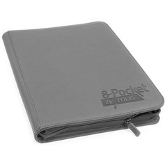 Gray 8-pocket ZipFolio Binder (Ultimate Guard)