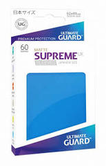 Ultimate Guard Supreme UX Sleeves Japanese Size Matte Royal Blue 60ct