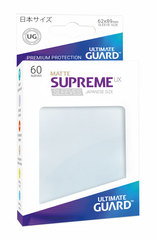 Ultimate Guard Supreme UX Sleeves Japanese Size Matte Frosted 60ct