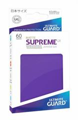Ultimate Guard Supreme UX Sleeves Japanese Size Matte Purple 60ct