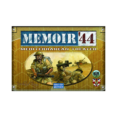 Memoir '44: Mediterranean Theater Expansion (In Store Sales Only)