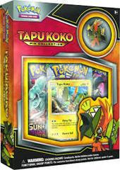Pokemon TCG: Tapu Koko Pin Collection
