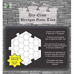 Dungeons and Dragons RPG - Dry Erase (Dungeon Tiles)
