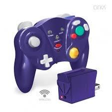 Gamecube - Freepad Wireless Controller - Purple
