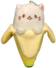 Bananya Cat - White