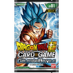 Galactic Battle - Series 1 (Dragon Ball Super) - Booster Pack