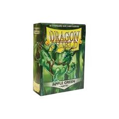 Matte Apple Green - Standard Boxed Sleeves (Dragon Shield) - 60 ct