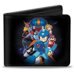Mega Man: Bi-Fold Wallet - Group