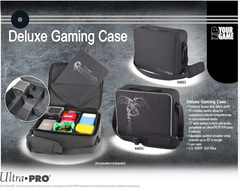 Ultra Pro Deluxe Gaming Case: Black