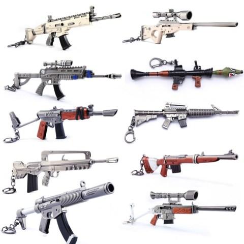Fortnite Rifle Keychain