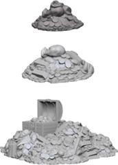 Deep Cuts Unpainted Miniatures - Treasure Piles