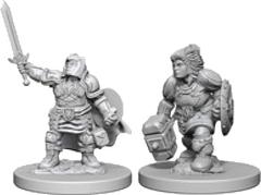 D&D - Nolzur's Marvelous Unpainted Miniatures - Dwarf Paladin Female