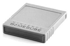 Gamecube Memory Card (Grey 4 MB)