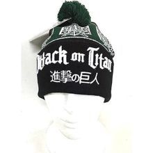 Attack on Titan: Green Pom Pom Beanie