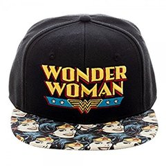Wonder Woman: Printed Brim Hat