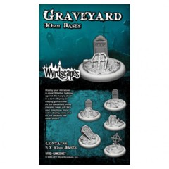 Wyrdscapes: Graveyard 30mm Bases