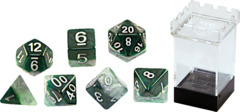 Gate Keeper Dice - Halfsies - Adamantine - 7 Dice Set