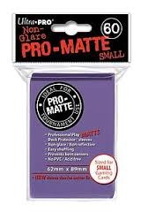 Ultra Pro Pro-Matte Small Sleeves - Purple (60ct).