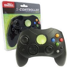 S - Controller for Original Xbox - Old Skool (Black)