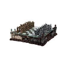 Chess Set: Fantasy 3D 17in Set