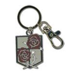 Attack on Titan: Double Rose Pendant Key Chain